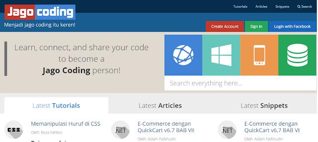 Jagocoding web design
