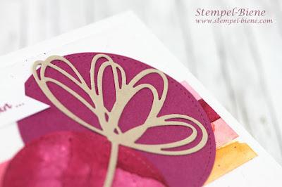 Matchthesketch; Grüße voller Sonnenschein; Stempel-Biene; Stampinup Karte