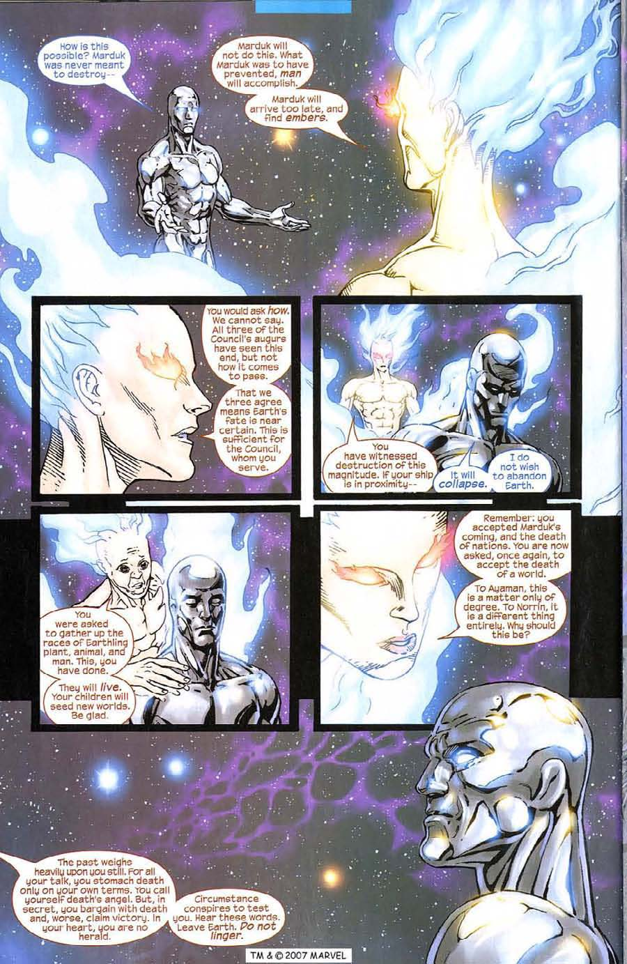 Read online Silver Surfer (2003) comic -  Issue #8 - 28