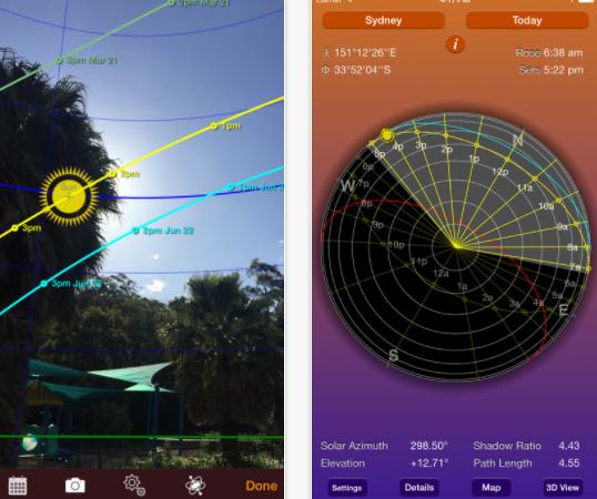 Sun Seeker AR App