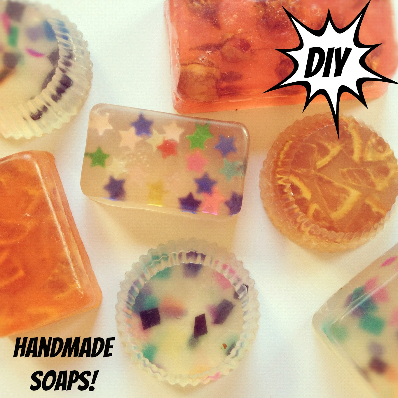 DIY Christmas Gift Ideas Handmade Soaps