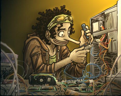 مهووس الحواسيب والتقنية