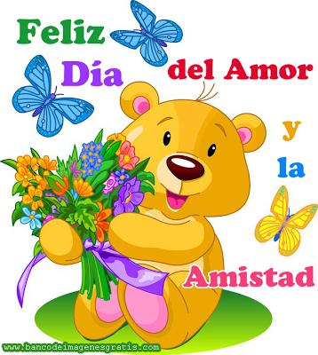 Imagenes Postales Del Dia Del Amor Y La Amistad Con Frases Bonitas