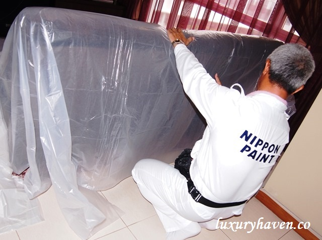 nippon paint professional services cover furnishings
