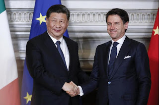 Italy Signed a Memorandum of Understanding (MoU) with China