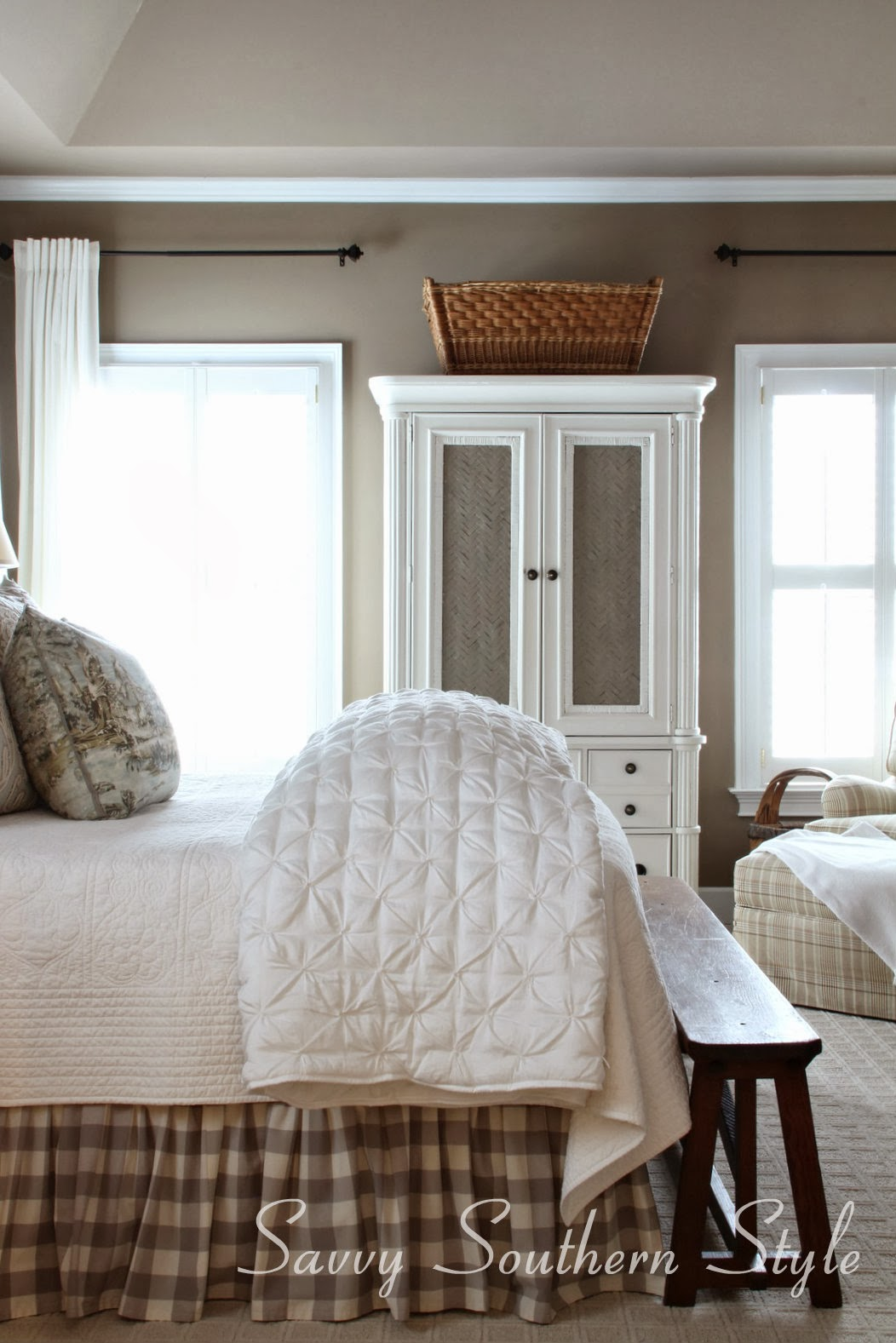 Savvy southern style master bedroom evolution for Southern style bedroom