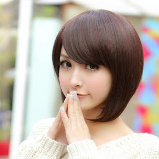 91 Model Rambut Wanita Ala Korea Untuk Wajah Bulat