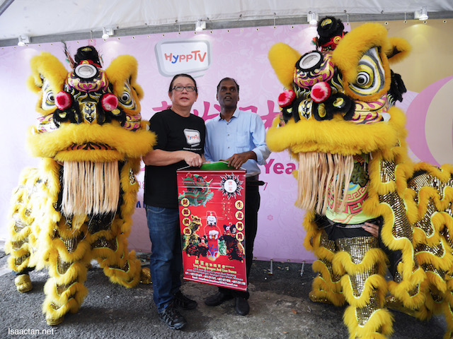 HyppTV Chinese New Year Celebration With PJ Caring Home, Selangor