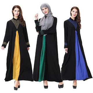 Model Baju Gamis Maroko Turki Terbaru 2018