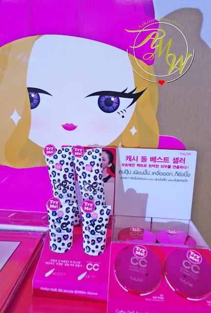 a photo of Cathy Doll CC Cream & Powder Pact