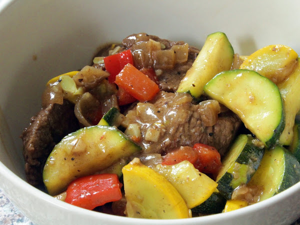 An oldie and a much loved goodie (Italian Beef Stir Fry)