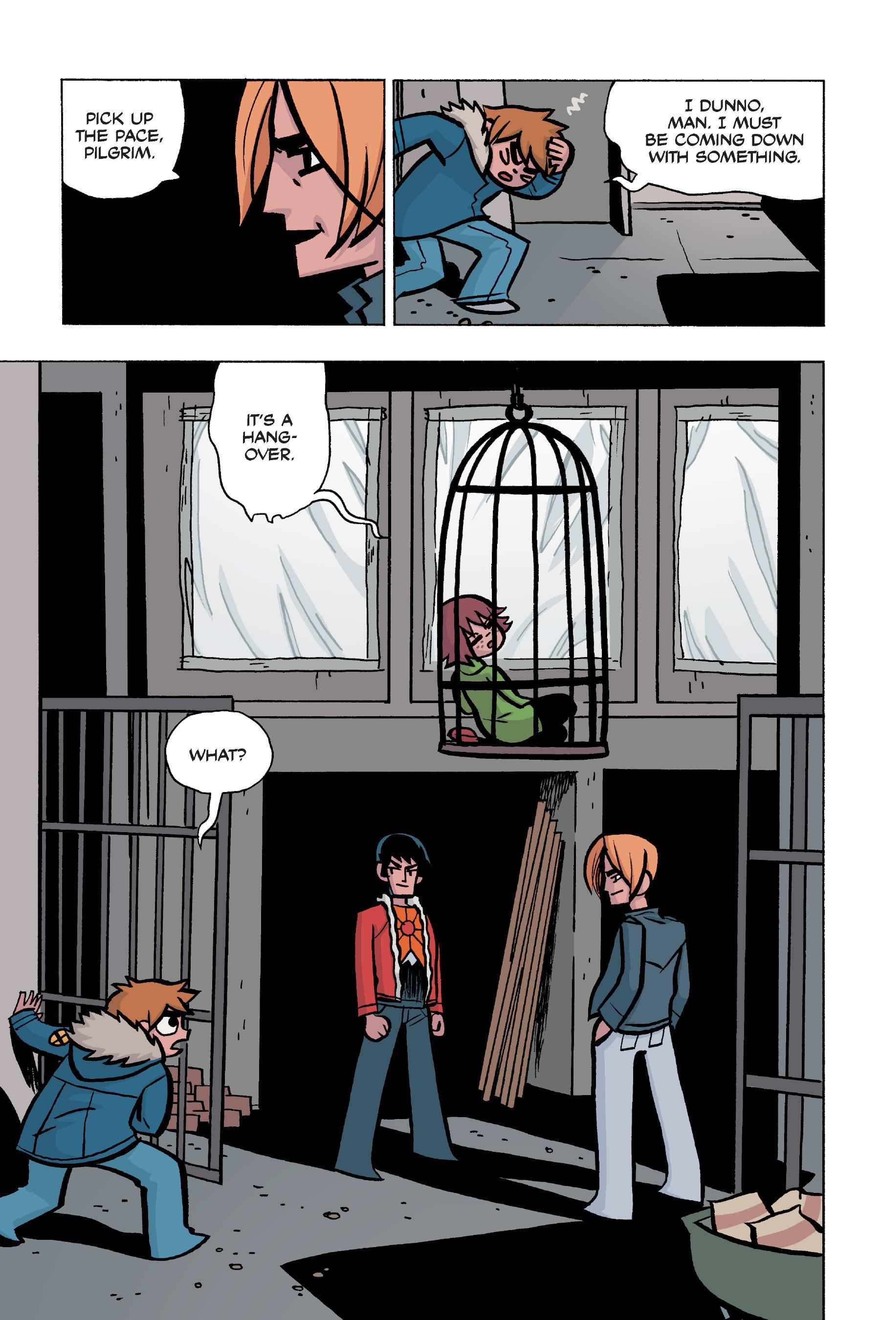 Read online Scott Pilgrim comic -  Issue #5 - 117
