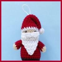 Amigurumis navideños patrón gratis