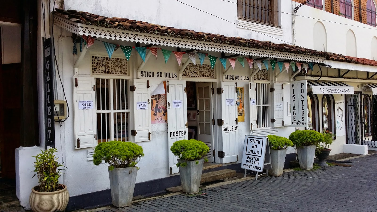 Estética colonial de Galle (Sri Lanka)