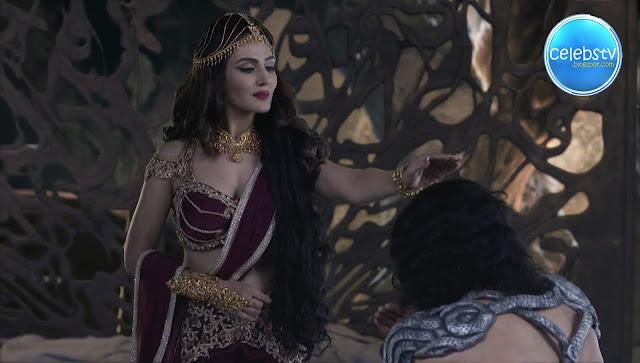Sudeepa Singh Aka Rani Pari Very Hot Sexy Deep Cleavage -1513