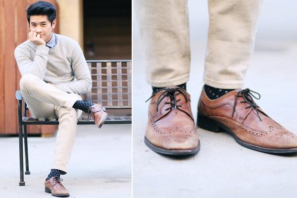 Look Masculino com Sapato Brogue Masculino