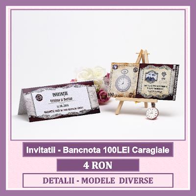 http://www.bebestudio11.com/2017/01/invitatii-nunta-bancnota-100lei.html