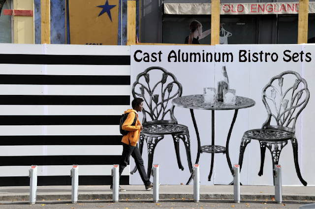 Cast Aluminum Outdoor Bistro Sets, Outdoor Bistro Sets, Bistro Sets, Outdoor Furniture,