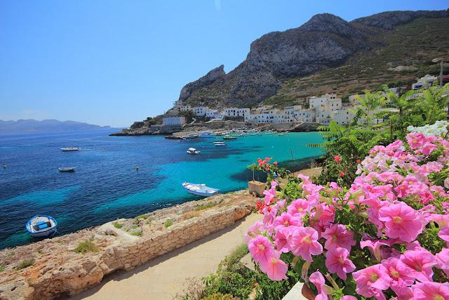 spiaggia della sicilia, italia