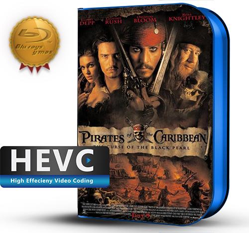 Pirates of the Caribbean: The Curse of the Black Pearl (2003) 1080P HEVC-8Bits BDRip Latino/Ingles(Subt.Esp)(Aventura)