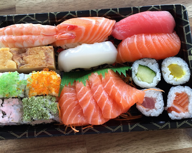 Sushi Boy, Fairfield, sashimi
