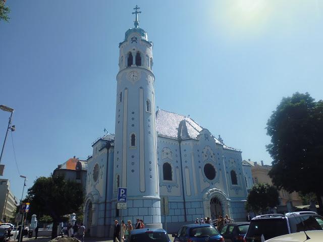 Iglesia de Santa Isabel (Bratislava) (@mibaulviajero)