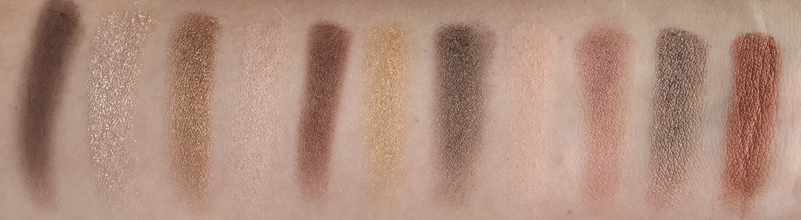 Sleek I Divine All Night Long Palette Swatches