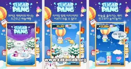 Juega moviendo bloques con Sugar Pang for Kakao