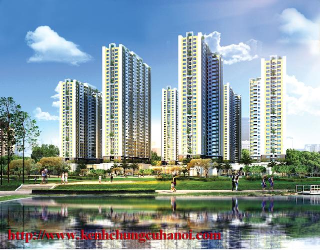Phối cảnh dự án An Bình City