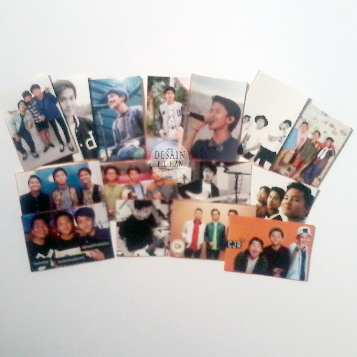 STICKER CUSTOM, STICKER BOYBAND CJR
