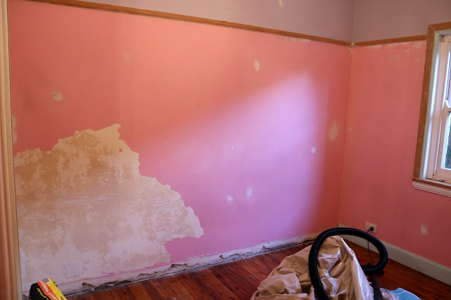 Complete Room Makeover - From Spare Bedroom to Home Office - Before Photos