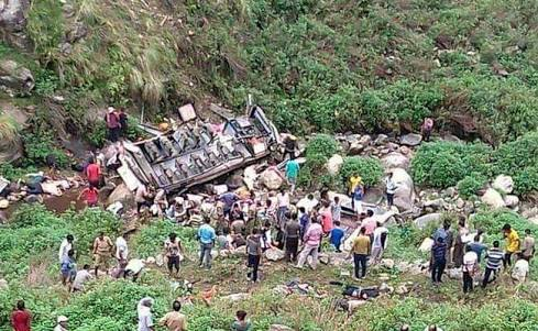 bus accident , prime minster , uttarakhand