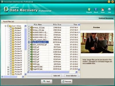 Tenorshare Data Recovery Professional