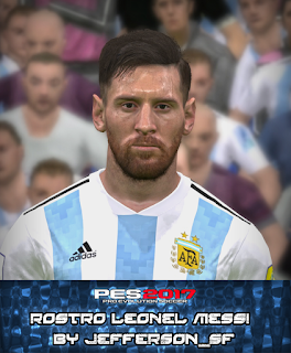 PES 2017 Faces Leo Messi by FaceEditor Jefferson_SF