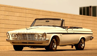 1963 Plymouth Sport Fury Convertible Front Left