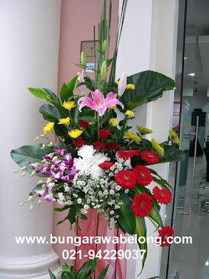 Karangan Bunga Ucapan Pembukaan Kantor