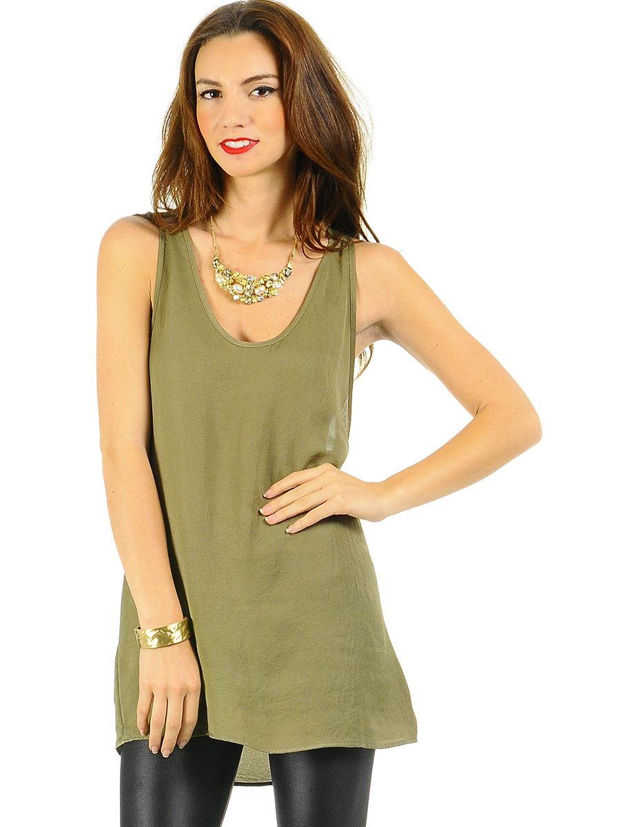 WOMEN'S TUNIC TOPS WEAR BLOUSES : Types Of Basic Women's Top's