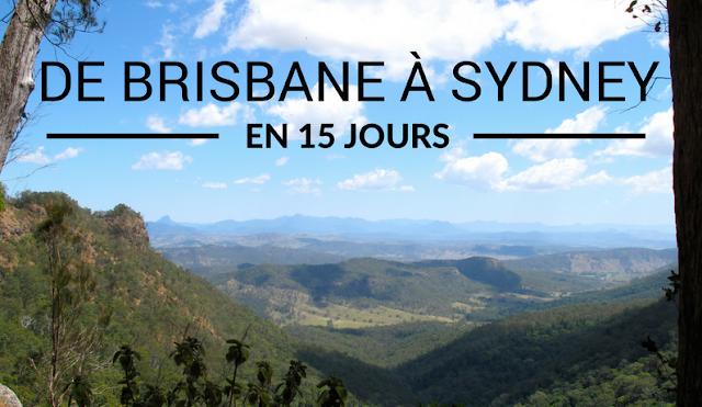 Road trip de Brisbane à Sydney en 15 jours - Australie
