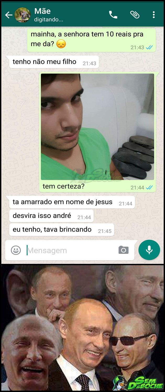 TÉCNICA INFALÍVEL PRA TIRAR DINHEIRO DA SUA MÃE