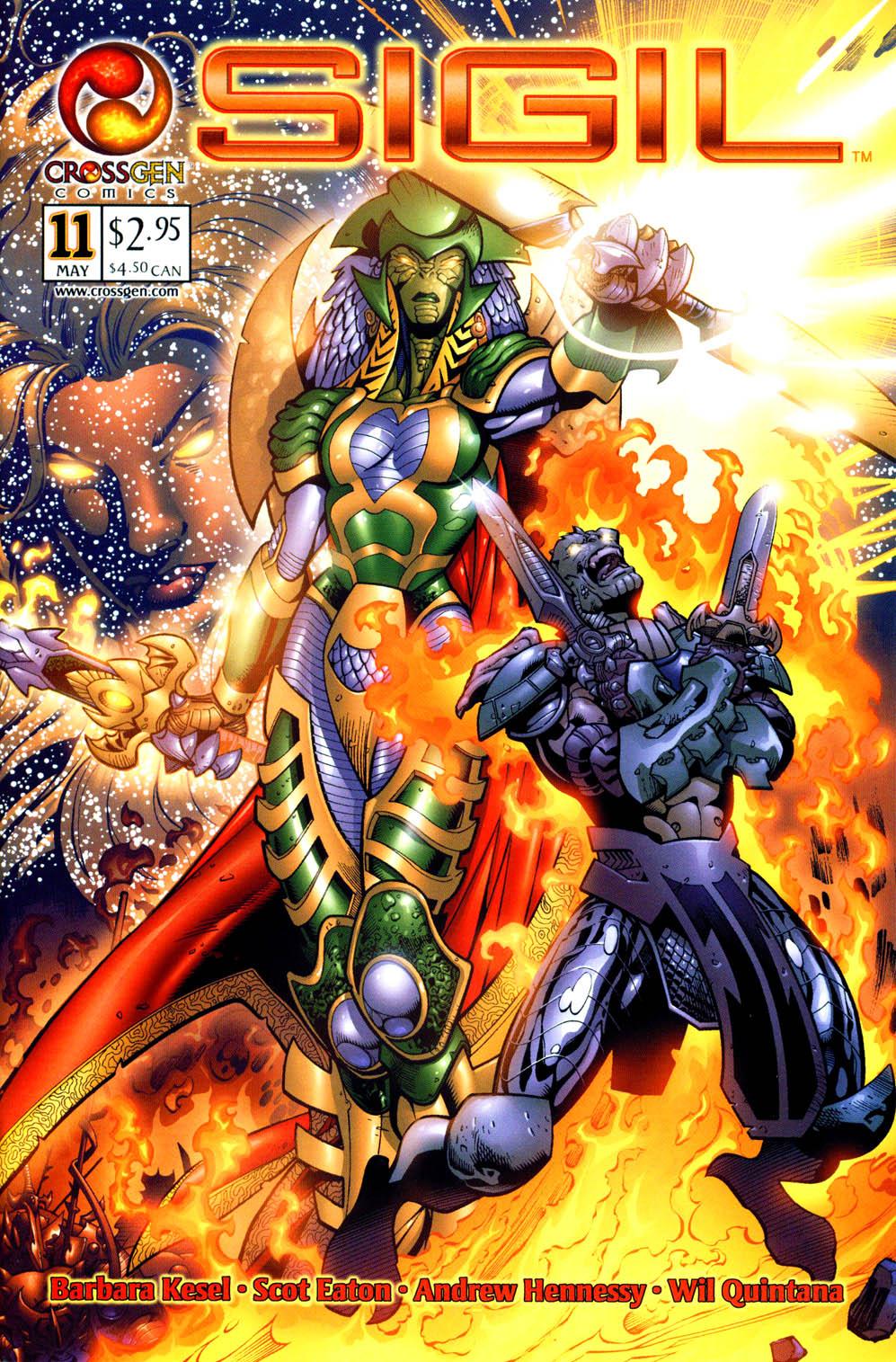 Read online Sigil (2000) comic -  Issue #11 - 1