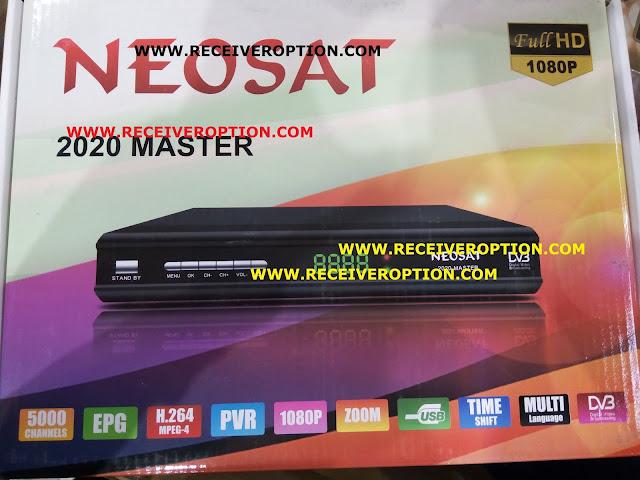 NEOSAT 2020 MASTER HD RECEIVER BISS KEY OPTION