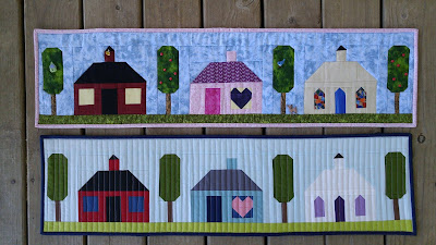 Row by Row Experience 2016 Home Sweet Home mini quilt