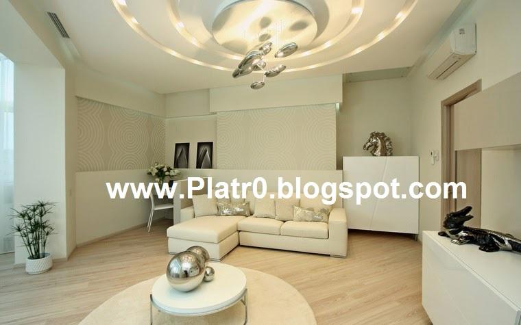 Meilleur Salon 2016 Plafond platre Led - Décoration Platre ...