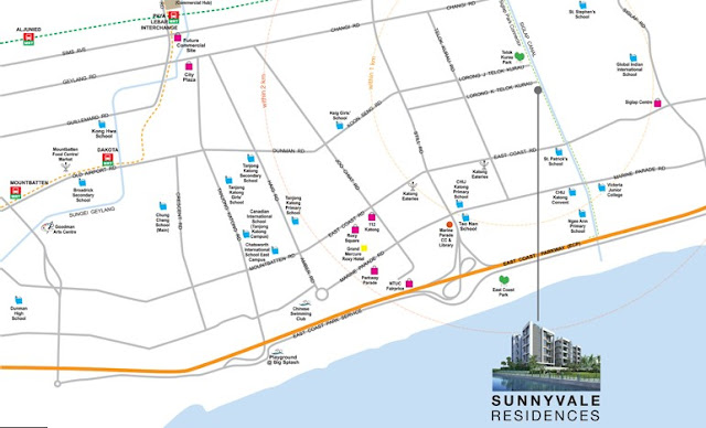 Sunnyvale Residences Location