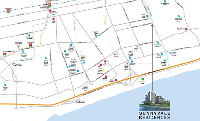 Sunnyvale Residences Location