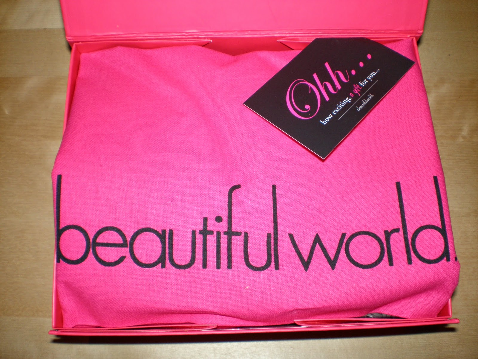 Unboxing Abeautiful world beauty box