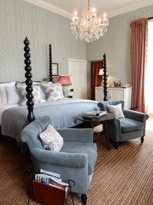 Babington House bedroom Somerset