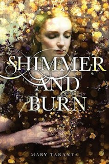Shimmer and Burn by Mary Taranta book cover