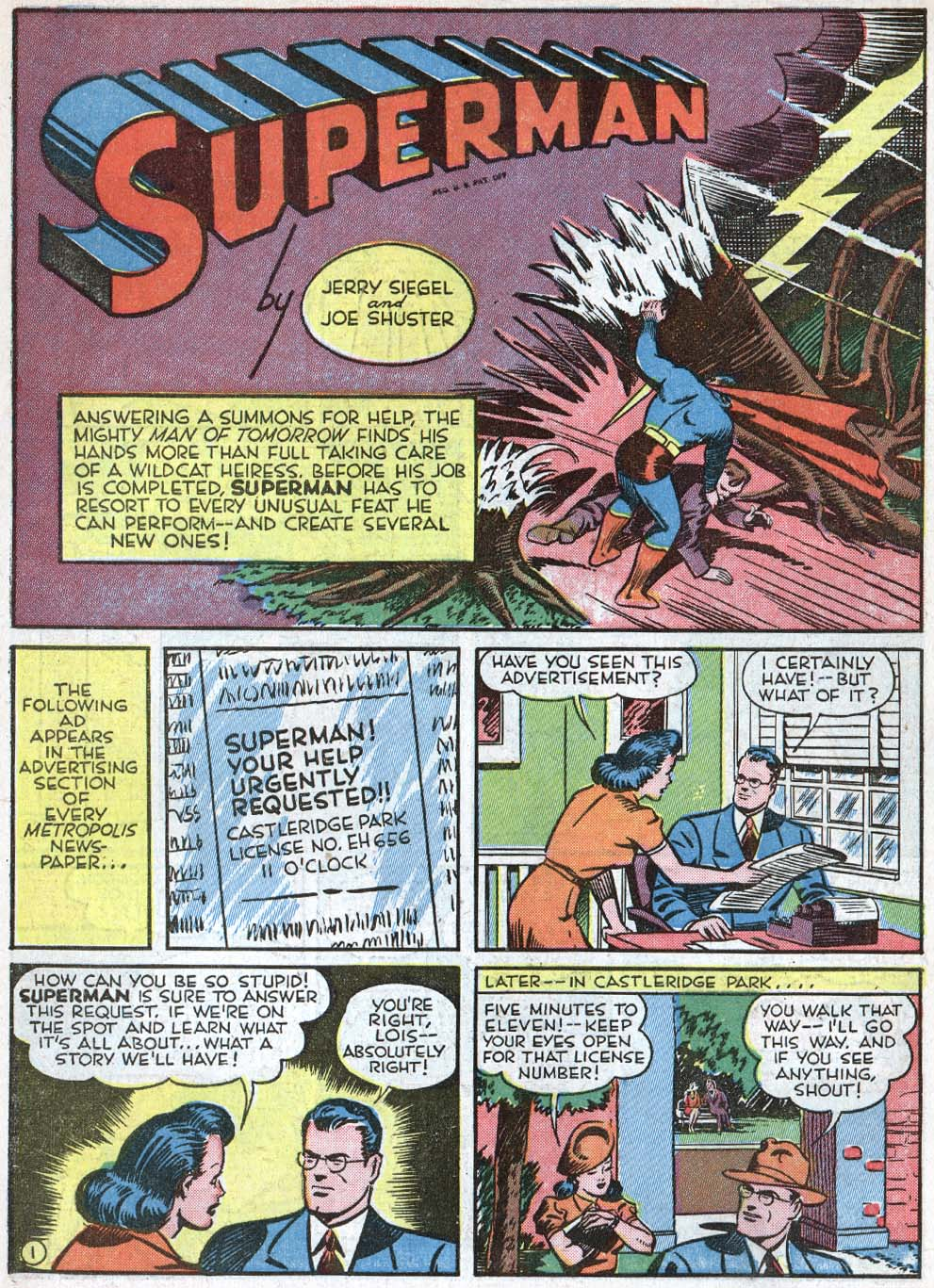 Read online Action Comics (1938) comic -  Issue #40 - 3