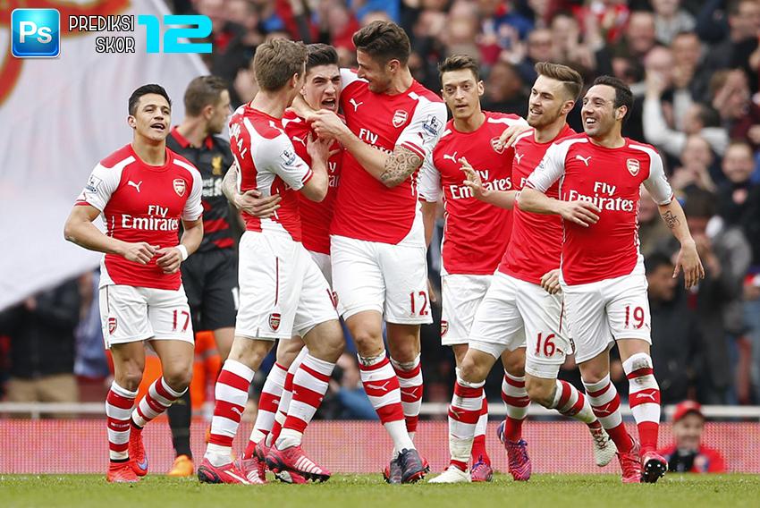 Prediksi skor PSG vs Arsenal 14 September 2016